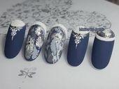 Nails winter design outlets 61+ Concepts