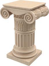 Columns Ionic Order Pillar Design Column