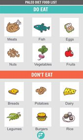 Paleo Diet Food List – What to Eat and Not to Eat