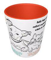 Hund & Katze Infographik Mug / / 11 oder 15 oz / / perfekte Geschenk für Hund und Katze Liebhaber / / Erfahren Sie mehr über die Geschichte unserer geliebten Haustiere