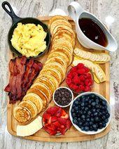 Pancake Board – une façon créative de servir le petit-déjeuner, …