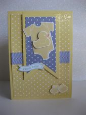 Baby Cards Something for Baby – Kate Morgan, Independent Stampin Up!® Demonstrator Rowvi...
