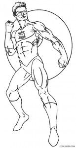 Green Lantern Coloring Pages Coloring Pages Green Lantern Green Lantern Characters