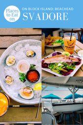 Locations to Eat on Block Island: Beachead – SVADORE