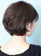 30+ rear view of short haircuts