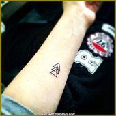 Außergewöhnlich kleine Tattoos, tolle Wirkung! magisches Inspirationsmuster – T … – tatowierung.listelona.com