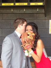 Baseball prom picture #bestfriendprompictures
