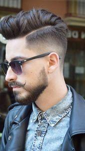 Top 5 Frisuren für Männer mit Bart, # Bärte # Frisuren   – Aidan's Hair