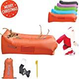 Gaduge Giant Inflatable Lounger Chair Hangout Sofa In 8 Fun Colors