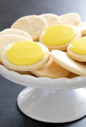 Gluten Free Lemon Sugar Cookies | just like Lofthouse