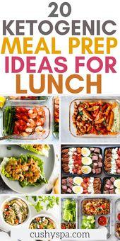 20 ketogene Essenszubereitungsideen zum Mittagessen #keto # Probieren Sie diese …   – Stream