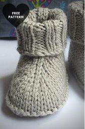 Patrón de zapatillas de bebé gratis que puede comprobar el patrón b ... - #accessories #Baby #chec ...