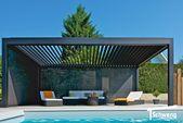 Lamellendach Eteria aus Aluminium günstig kaufen