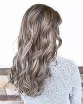 Mushroom Blonde ist der Frisurentrend 2019 und die perfekte Farbe für Blondine und …   – Frisuren