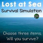 Open Ocean: Survival Simulation: Back to School Activity