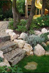Schöne Vorgarten-Landschaftsideen können Ihr Zuhause besonders attraktiv machen und … – Beste Garten Dekoration