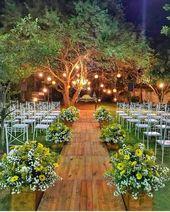 30 HERRLICHE HOCHZEITSGARTEN-DEKOR-IDEN Hochzeitsideen   – Event