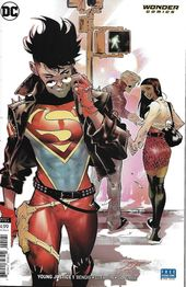 Younger Justice Comedian Difficulty 1 Restricted Superboy Variant Fashionable Age First Print 2019