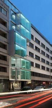 F40 Berliner Büros Architektur und Design UND #Architektur #Berliner #Büroarch…