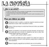 35 Ideas De School Escribir Noticias Periódico Escolar Texto Informativo Tipologias Textuales