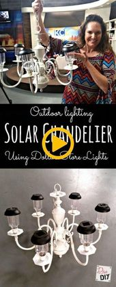 18 Trendiga Diy Home Decor Dollar Store Solar Lights – 18 Trendy Diy Home Decor …..