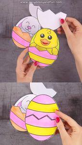 Shock Easter Eggs Craft for Children