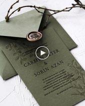 PERSONNALITÉ CRÉATIVE LES INVITATIONS DE MARIAGE SONT ESSENTIELLES POUR LES MARIÉES – Page 46…