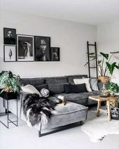 ✔75 grey small living room apartment designs to look amazing 70