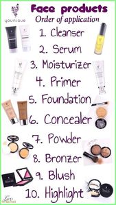 50+ Make Up – Genau in dieser Reihenfolge sollten Sie Ihr Younique-Gesichtshaar haben …   – Hautpflege
