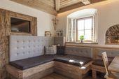 Nice upholstery for corner bench –