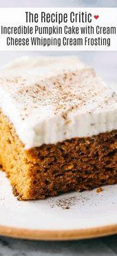 Dieser Kürbiskuchen ist der erstaunlichste Kürbiskuchen, den Sie jemals machen werden! Perfekt…
