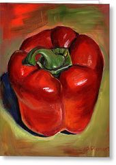 Pick A Pepper 2 by Sheila Diemert – Art