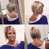 35+ süße einfache Frisur Ideen für kurzes Haar