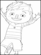 Kleurplaten Zack En Quack.Printable Coloring Pages For Kids Zack And Quack 6 Boryana