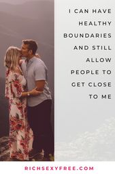 I Have Healthy Boundaries | Self-Love + Confidence Quote | Love + Relationship Mantra | Women | LOA
