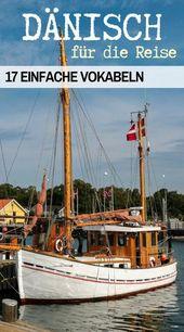 17 einfache Vokabeln Dänisch für die Reise nach Skandinavien