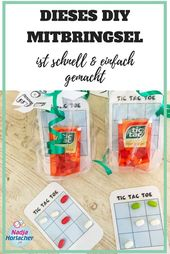 This DIY gift is made quick and easy