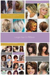 Cut long hair to medium length # step cut #pony #layer-long #bob #self-cut