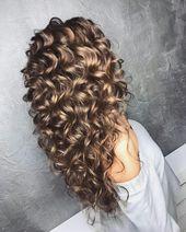 Idéias de penteado encaracolado soberba para festa » Bom Penteados