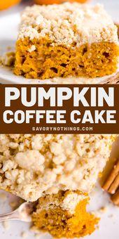 Dieser Kürbis-Kaffee-Kuchen ist ein großartiges Rezept für gemütliche Urlaubsbrunchs (oder …