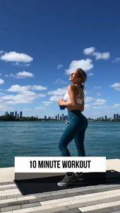 10 mins Daily fat burning workout for women, women workout, workout routine #womenworkout #fat #gym