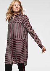 Aniston CASUAL Bluse Damen, Rot / Schwarz / Weiß, Größe XXXL – Products