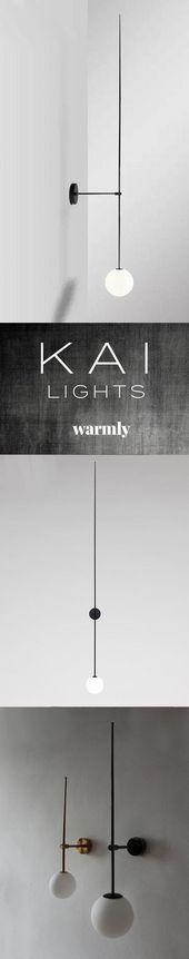 Kai – Modern Minimalist Wall Lamp