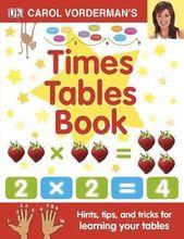 Illustrator Shortcuts  Carol Vorderman's Times Tables Book (Hardback)