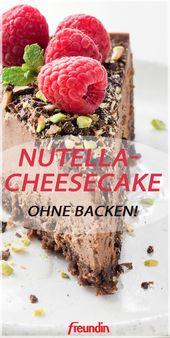 Nutella-Cheesecake ohne Backen
