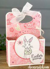 Wie man eine Osterbox macht   – Ostern