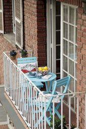 75 Beautiful Apartment Balcony Decorating Ideas on A Budget #smallbalconyfurnitu… – Kmen