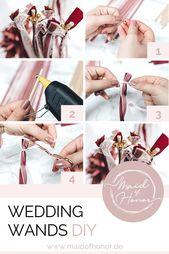EIN SCHNELLES DIY: Wedding Wands