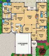 Brohamwood | Retirement House Plans | Ranch Floor …