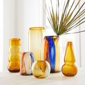 The Mexican Glass Art Vases are made in Mexico, in collaboration with artist Die…